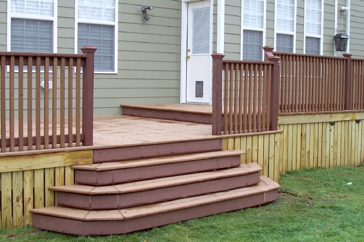Decks for Box steps deck